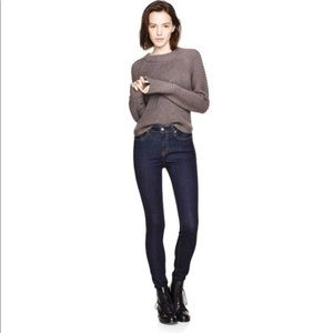The Castings High Rise Skinny Rinse 3D Jeans Sz 25